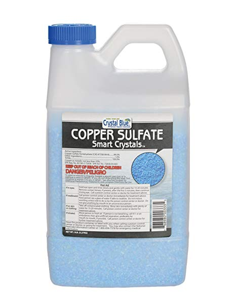 Crystal Blue Copper Sulfate Smart Crystals 5lbs.