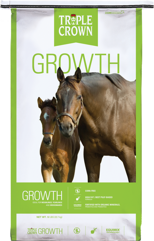 Triple Crown Growth Pelleted Horse Feed
