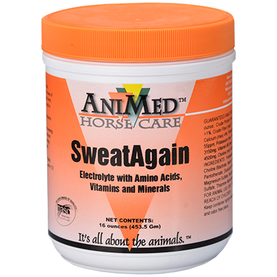 AniMed Sweat Again Horse Supplement