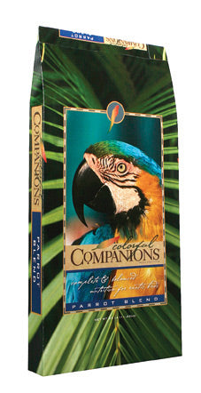 Colorful Companions Parrot Blend