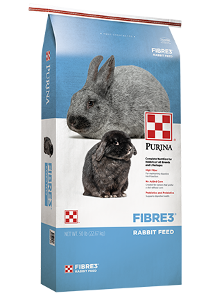 Purina Rabbit Feed - Fibre3