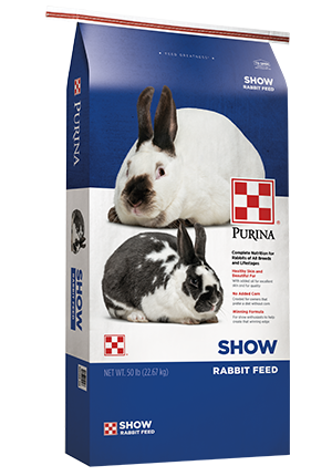 Purina Rabbit Feed - Show