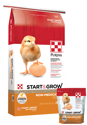 Purina Start & Grow Non-Medicated Chick Starter
