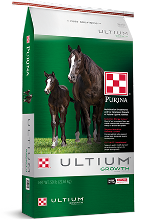 Ultium Growth Horse Formula 50lbs