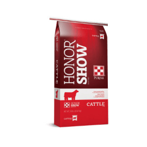 Purina Honor Show Chow Grand 4-T-Fyer Cattle Feed Concentrate