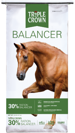 Triple Crown 30% Ration Balancer Pelleted Horse Feed