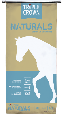 Triple Crown Naturals Steamed Crimped Oats