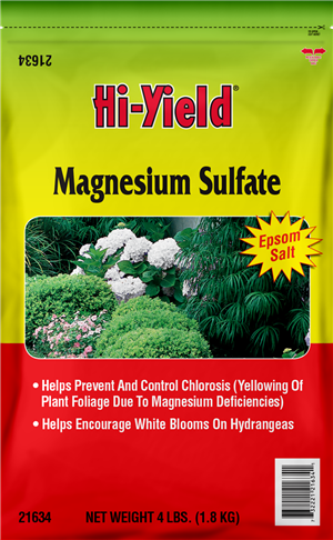 Hi-Yield Magnesium Sulfate Fertilizer 4lb