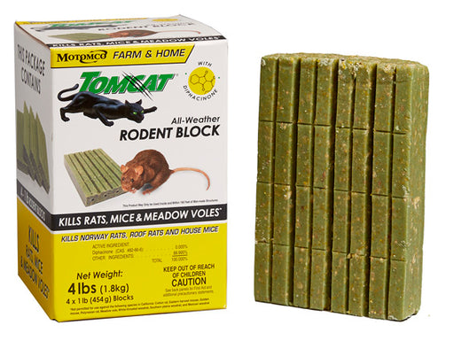 Tomcat® All-Weather Rodent Block