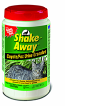 Shake-Away® Coyote/Fox Urine Granules
