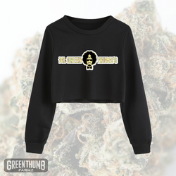 'Dr. Greenthumb's' Long Sleeve Crop Tee
