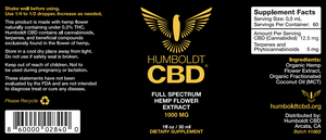 3 PACK - CBD OIL (1 oz)