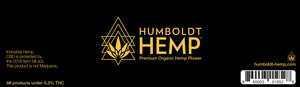 Humboldt Hemp CBD Flower Quarter Ounce Jar