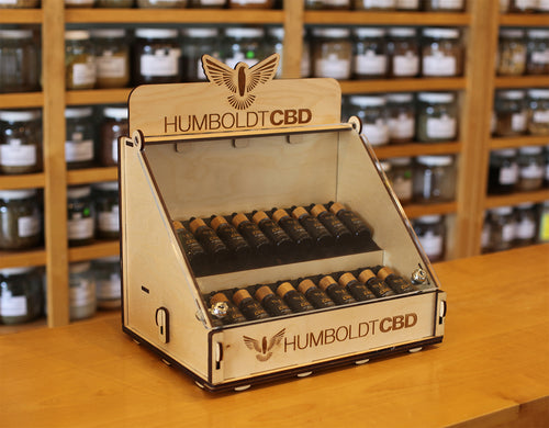Humboldt CBD Retail Kit (20 BOTTLES & DISPLAY CASE)