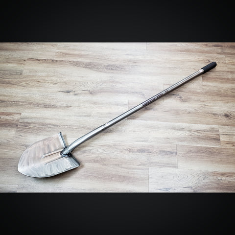 "Full Size ""ST1"" (Clear Powdercoat/Raw) Spade Shovel"