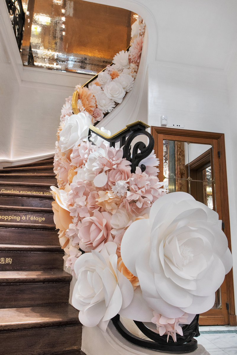 paper flowers for guerlain created mio gallery