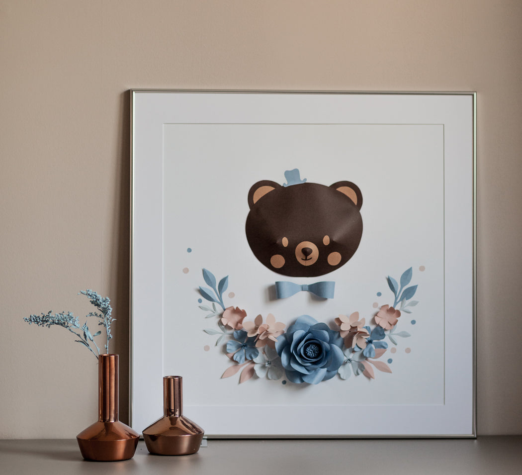 MASON the BEAR • Baby Boy Personalized Gift - Mio Gallery
