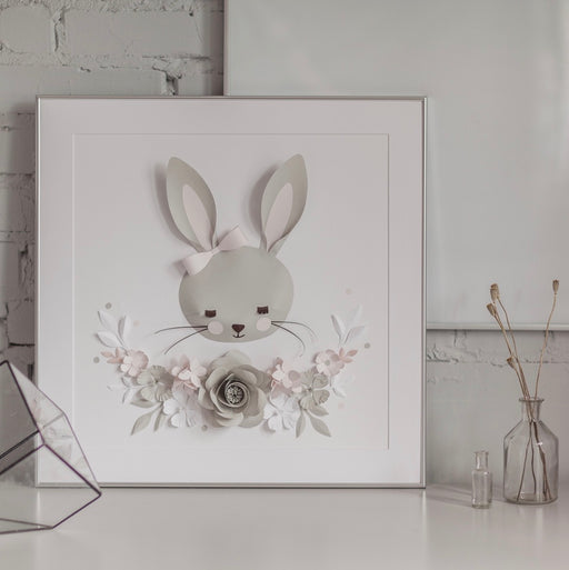 NORA the BUNNY • Nursery Wall Art - Mio Gallery