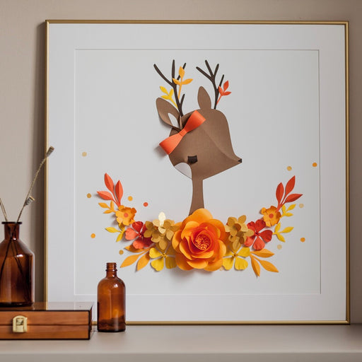 CHLOE the DEER • Baby Girl Fall Birthday Gift - Mio Gallery