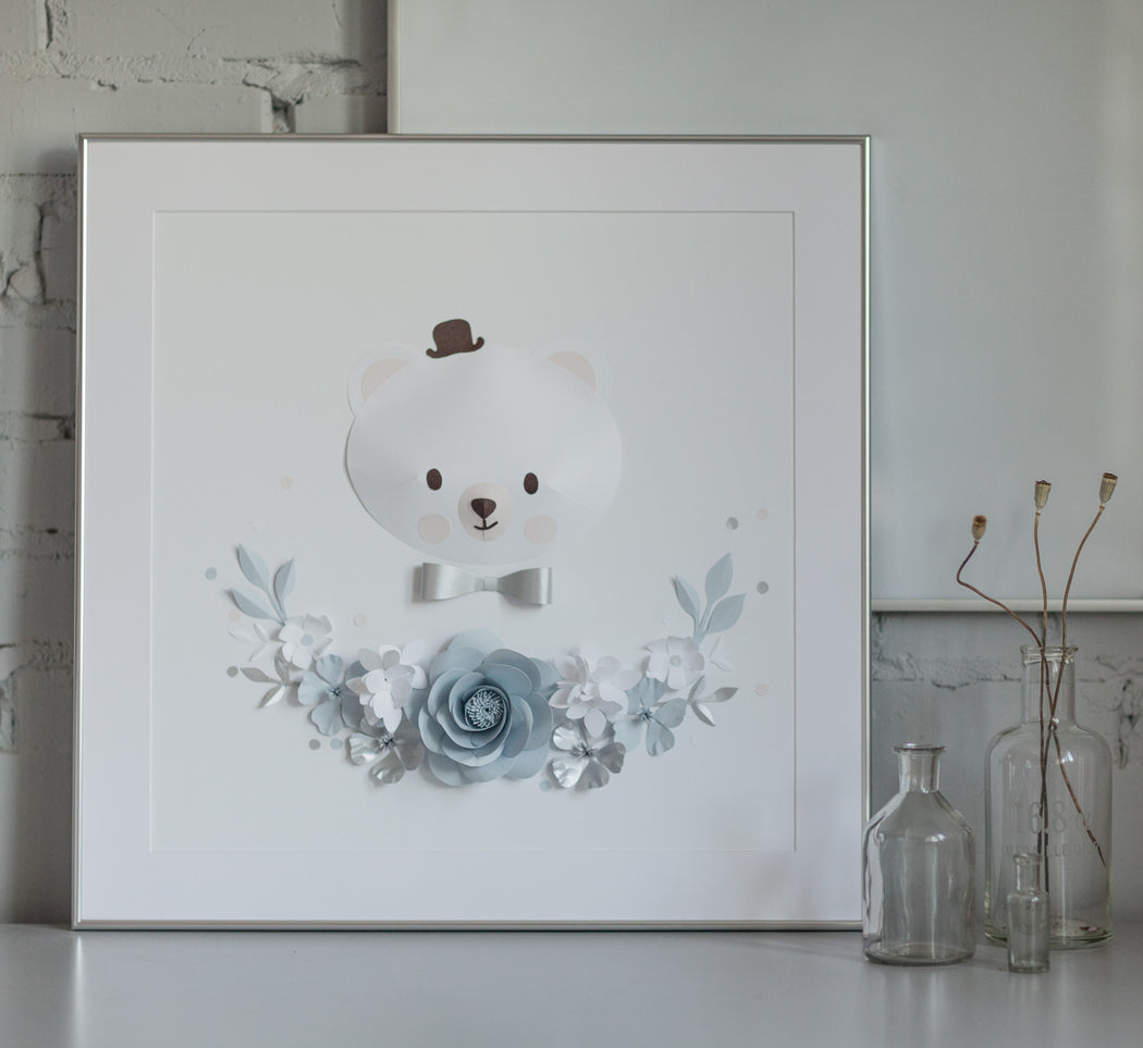 JACOB the POLAR BEAR • Newborn Baby Boy Gift - Mio Gallery