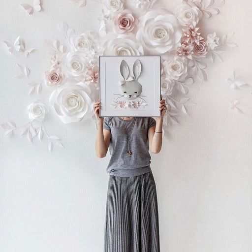 LOLA the BUNNY • Woodland Nursery Wall Decor - Mio Gallery