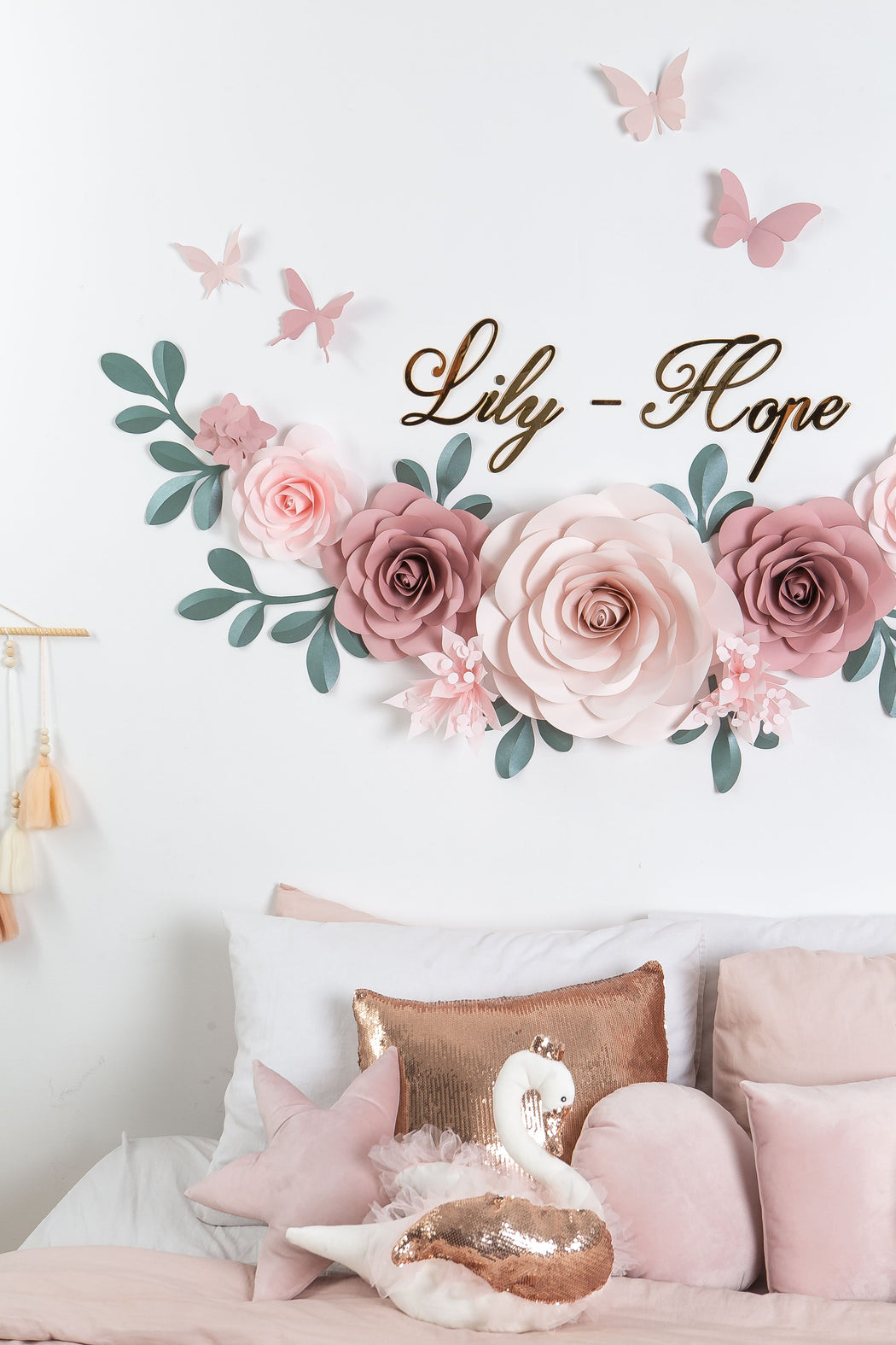 Paper Flowers Nursery - Paper Flowers Decor