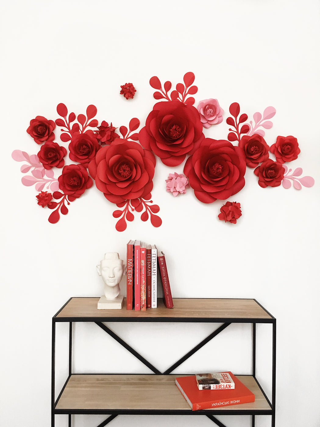 PAPER FLOWERS INTERIOR DECOR - INTERIOR PAPER FLOWER IDEAS - Mio Gallery