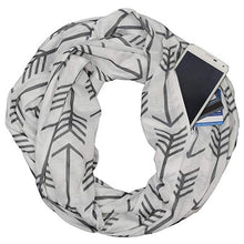Load image into Gallery viewer, Infinity Scarf with Pocket