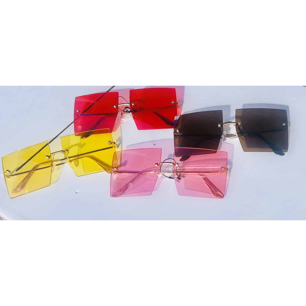 Rimless Sunglasses - DomUnique, LLC