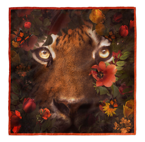 Tiger 100 Scarf By YNG