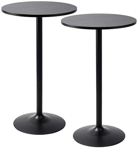 "30"" Round Black cocktail tables"