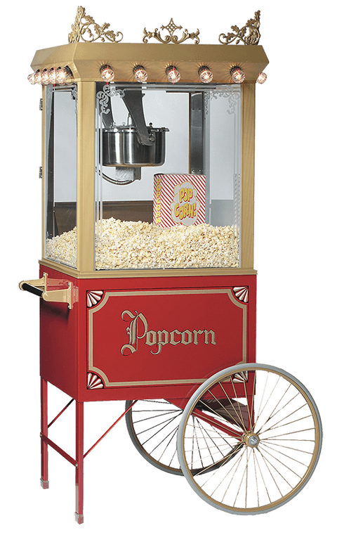 Antique Cart, Popcorn Machine