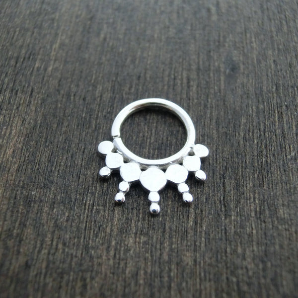 septum sterling silver
