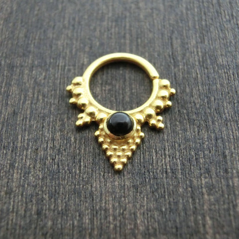 pyramid brass septum