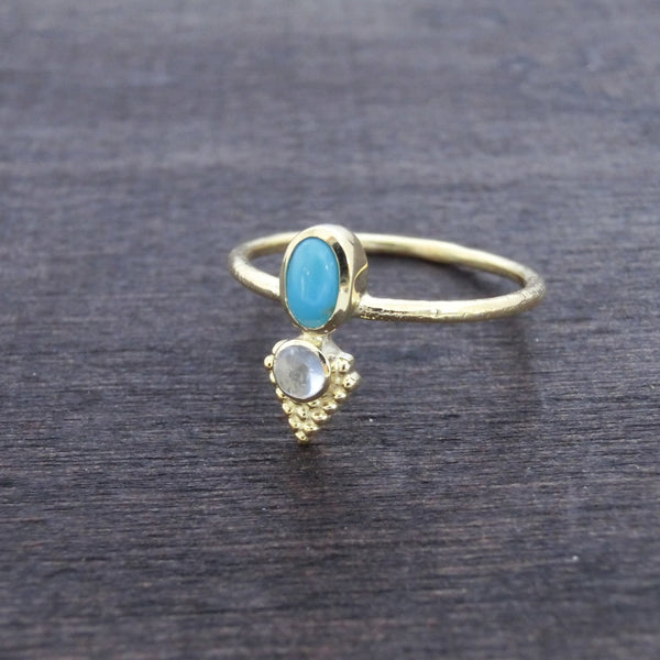 Dainty Gemstone Ring