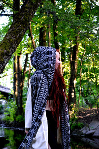 Tribal Hood Scarf
