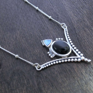 necklace sterling silver gemstone pendant ball chain