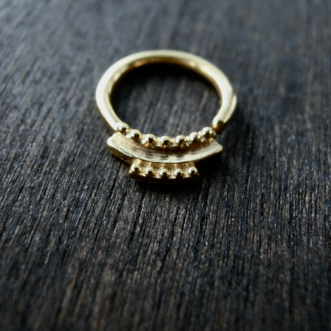 tiny brass septum