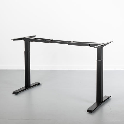 Stand Up Desk Frame Base in Black