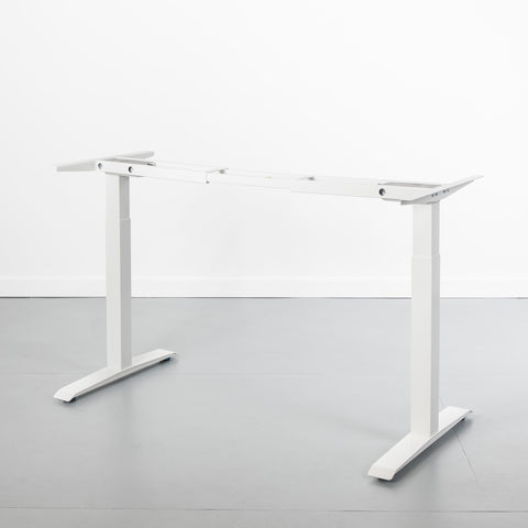 Stand Up Desk Frame Base in White