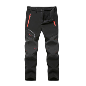 2019 new style hot sales Men Waterproof Windproof Outdoor Camping Hiking Warm Thick Trousers Pants high quality sales