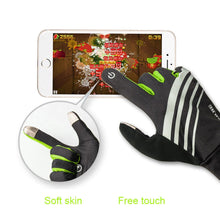 Load image into Gallery viewer, AONIJIE Winter Unisex Sports Touchscreen Windproof Thermal Fleece Gloves Running Jogging Hiking Cycling Skiing Bicycle