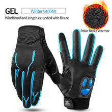 Load image into Gallery viewer, CoolChange Winter Cycling Gloves Touch Screen GEL Bike Gloves Sport Shockproof MTB Road Full Finger Bicycle Glove For Men Woman