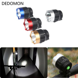 Cycling Q5 LED 3 Modes Front Light Headlamp Headlight Torch Waterproof For Mountain Road Bike 4 Colors Bicycle light