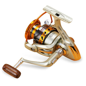 EF1000-7000 12BB 5.2:1 Metal Spinning Fishing Reel Fly Wheel For Fresh/Salt Water Sea Fishing Spinning Reel Carp Fishing