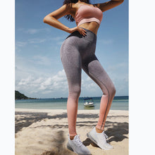 Load image into Gallery viewer, Energy Seamless Leggings High Waist Yoga Pants Workout Gym Leggings Scrunch Butt leggings Gradient Sport Yoga Leggings