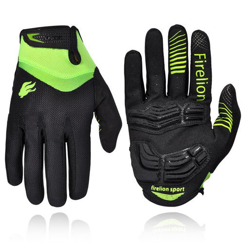 FIRELION Outdoor Full finger Gel Touch Screen Cycling Gloves Off Road Dirt Mountain Bike Bicycle MTB DH Downhill Motocross Glove. From 1stopoutdoors Store USA