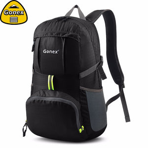 Gonex 2019 Ultralight Travle Backpack, 35L Cycling Shoulder Bag Outdoor Hiking Camping School Handbag Foldable Student Gift. From 1stopoutdoors Store USA