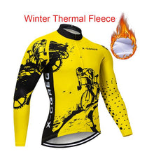 Load image into Gallery viewer, Men Winter Thermal Cycling Clothing 2018 New X-CQREG Long Sleeve Cycling Jersey Set Ropa Ciclismo MTB Bike Maillot Bicycle Wear
