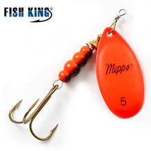 Load image into Gallery viewer, Mepps Spinner Bait  0#-5# 4 Color With Mustad Treble Hooks 35647-BR Arttificial Bait Fishing Lure